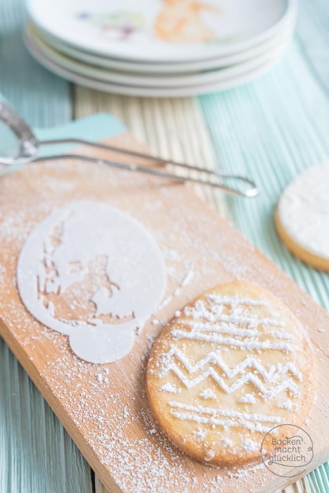 Ostereier-Kekse mit Fondant & Airbrush | Backen macht glücklich