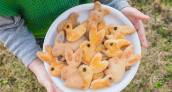 Osterhasen-Kekse einfaches Rezept