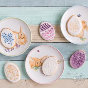 Verzierte Ostereier-Kekse