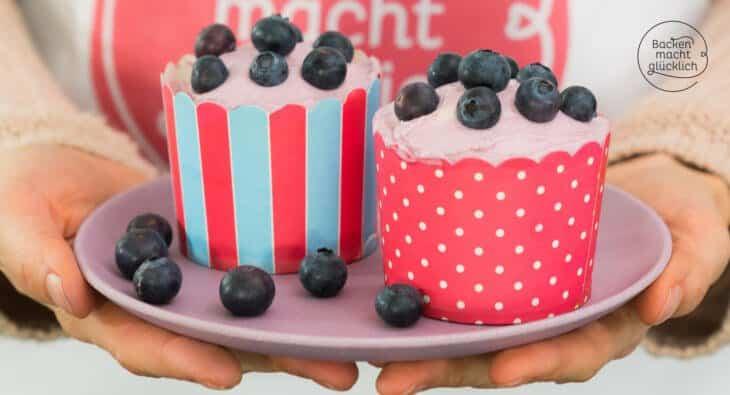 Cupcake-Rezept zuckerfrei fettarm
