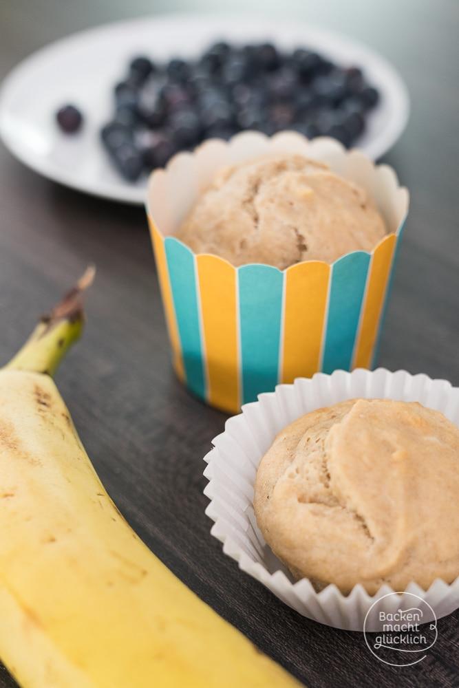 Zuckerfreie gesunde Muffins