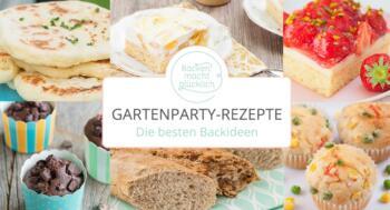 Backrezepte für Gartenfeste