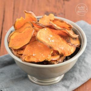 Gesunde Süßkartoffelchips