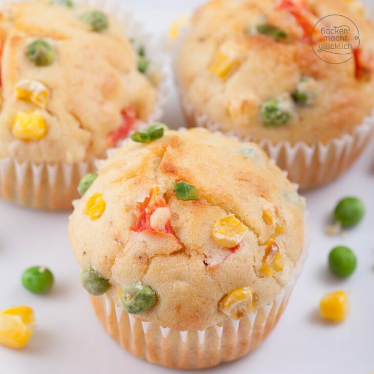 Partyrezept pikante Muffins