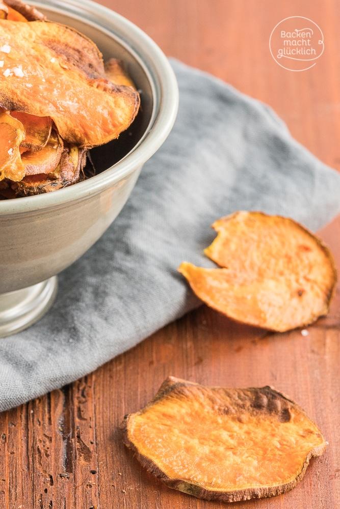 Suesskartoffelchips selbermachen