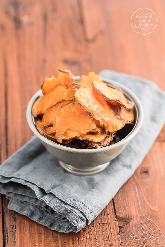Süßkartoffelchips Rezept
