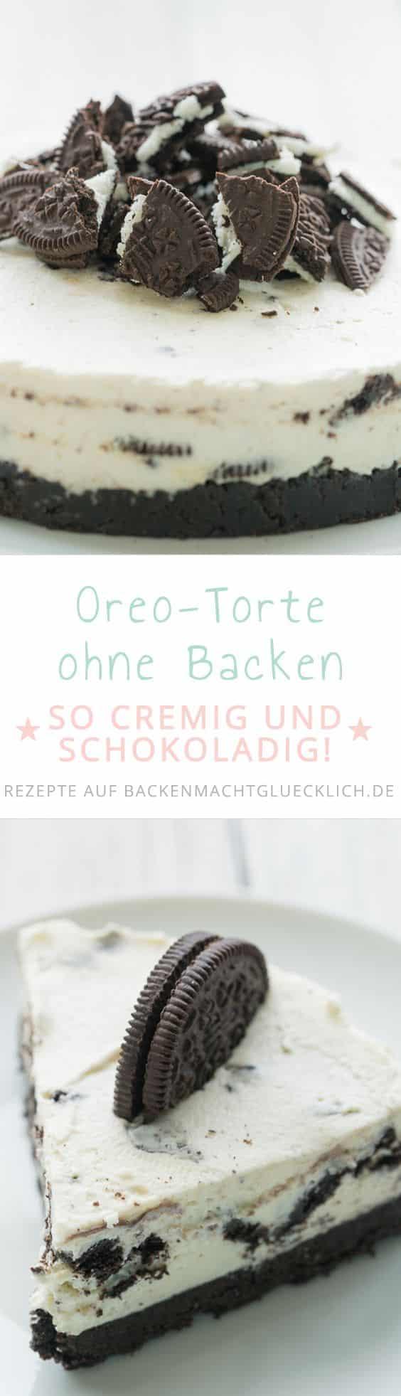Oreo Torte Ohne Backen Backen Macht Glucklich