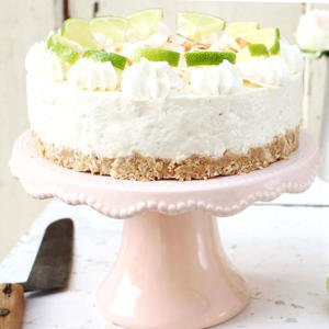 No bake limetten cheesecake