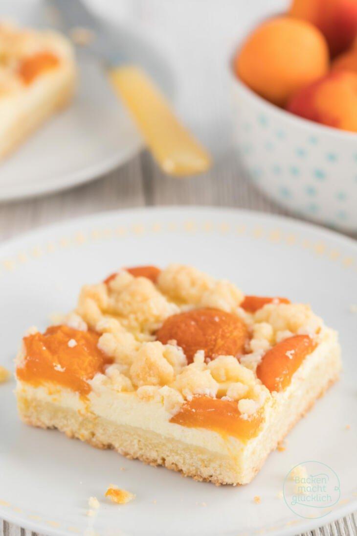 Aprikosenkuchen Mit Quark Und Streuseln Backen Macht Glucklich