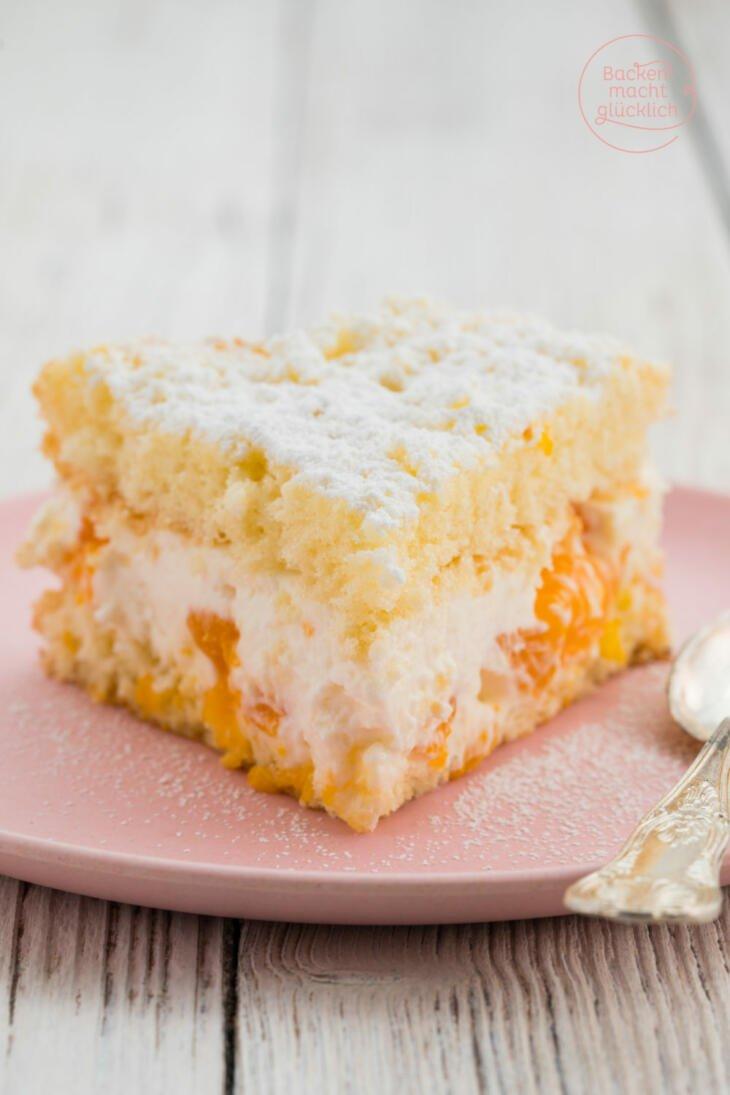 Feine Käse-Sahne-Torte