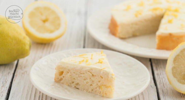 Zitronenkuchen Ohne Zucker Und Fett Backen Macht Glucklich