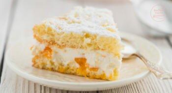 Käse-Sahne-Torte einfach und klassisch