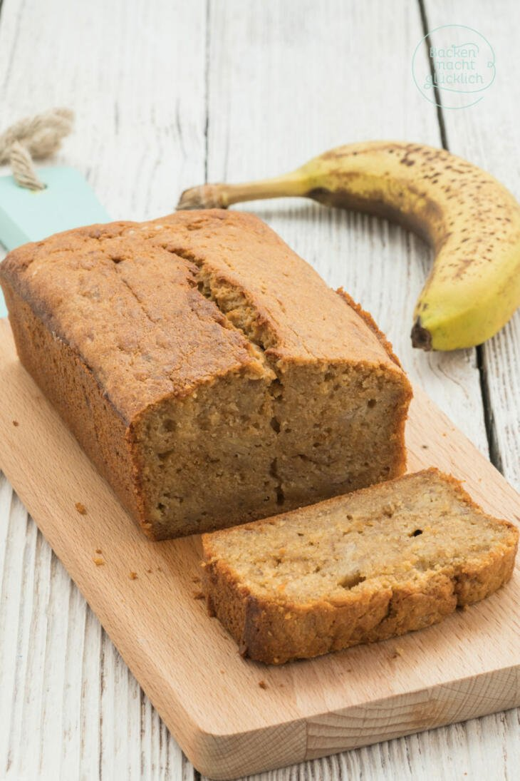 Saftiges Banana Bread Rezept