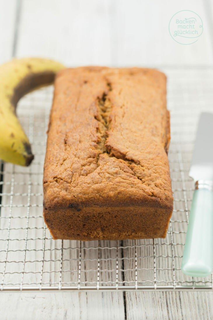 Saftiges Bananenbrot-Rezept