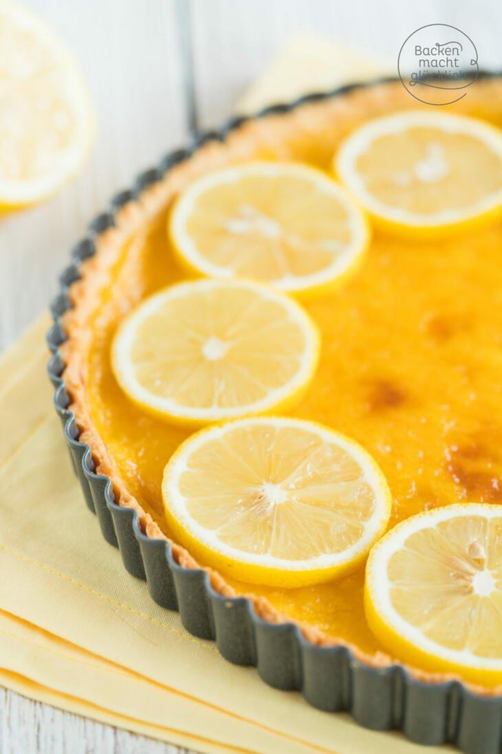 zitronentarte tarte au citron zitronenkuchen rezepte suchen. Black Bedroom Furniture Sets. Home Design Ideas