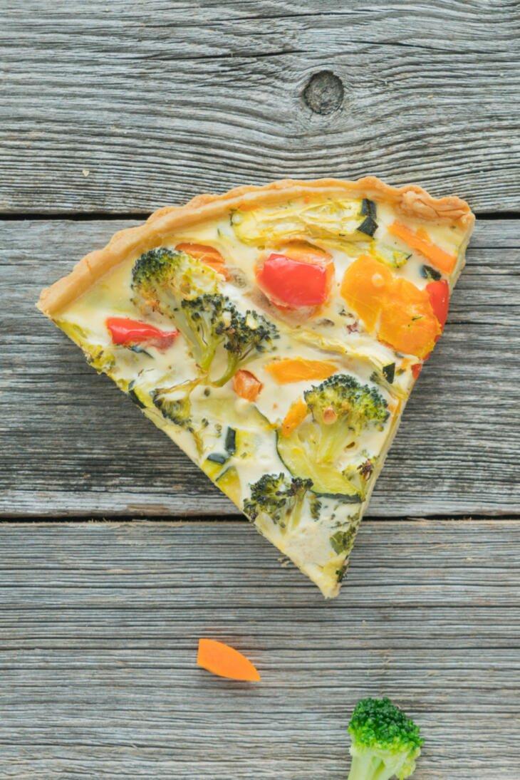 Vegetarische Gemüsetarte