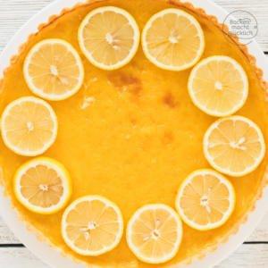Zitronentarte Tarte au citron Rezept