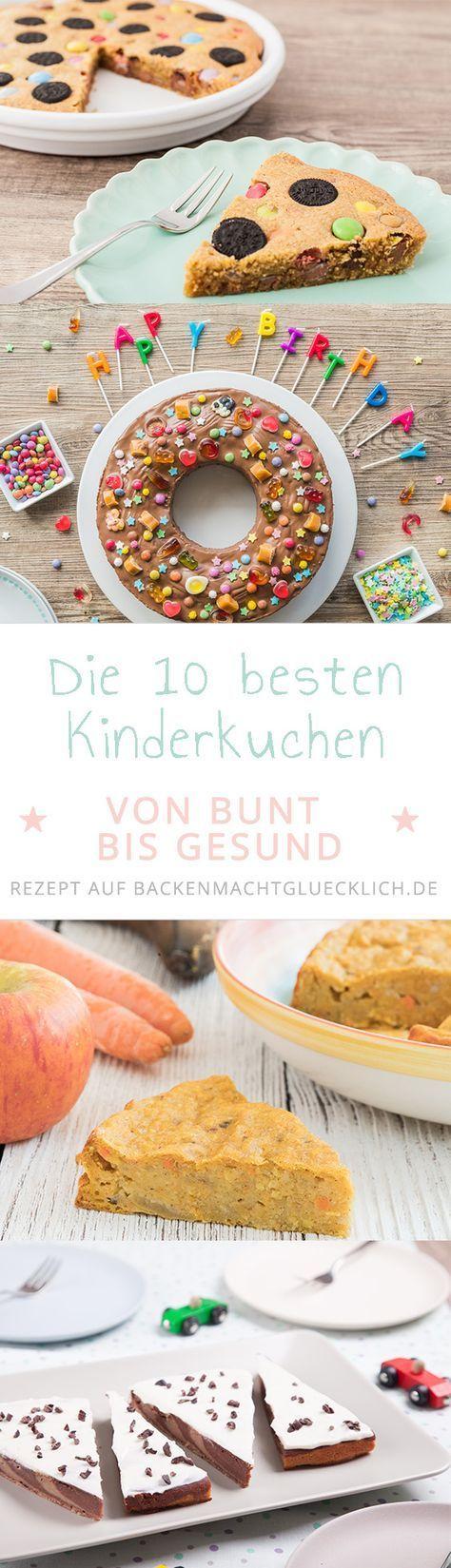 Die Besten Kindergeburtstags Kuchen Backen Macht Glucklich
