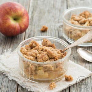 Apfel-Crumble Apple Crumble
