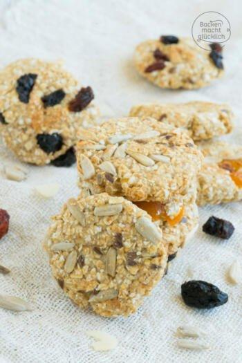 gesunde Müsli-Kekse ohne Ei