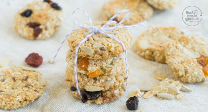 Müsli Cookies vegan