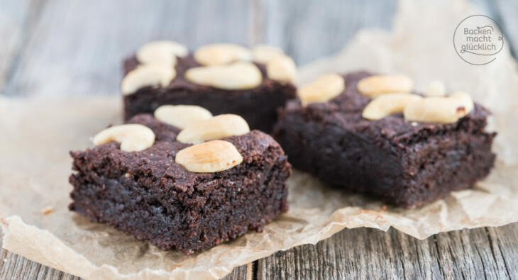 Saftige vegane brownies