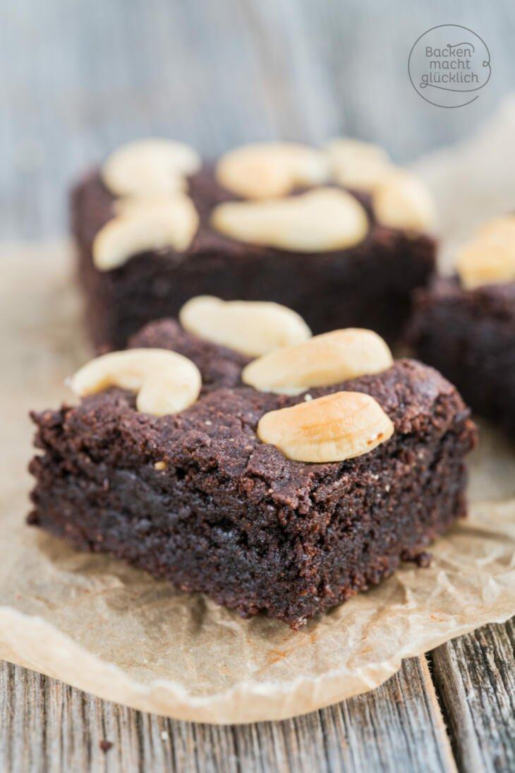Saftige vegane Brownies Rezept