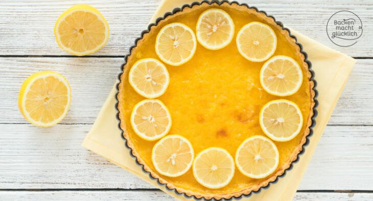 Zitronentarte (Tarte au citron)