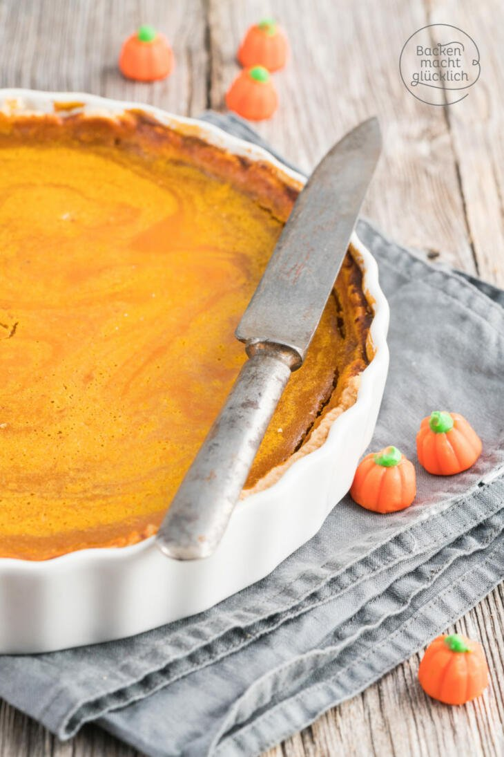 Pumpkin Pie backen