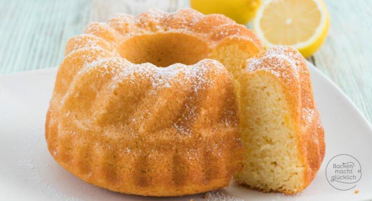 Zitronen Joghurt Gugelhupf Backen Macht Glucklich