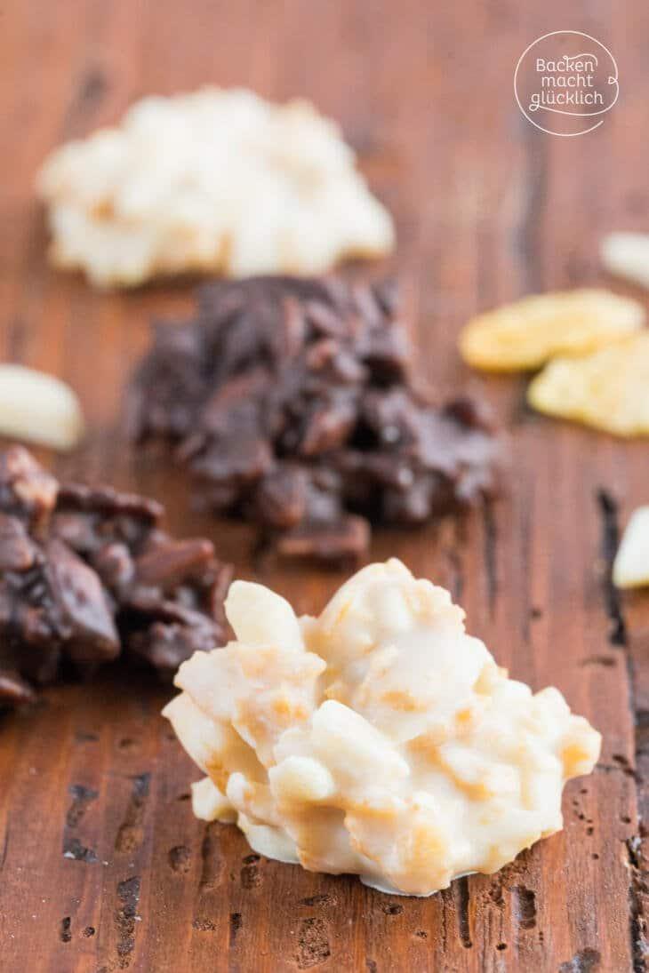 Schoko Crossies mit weißer Schokolade