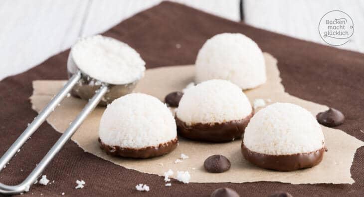 Vegane Kokosmakronen Aus 3 Zutaten Backen Macht Glucklich