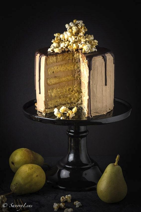 Nougat Birnen Torte Rezept