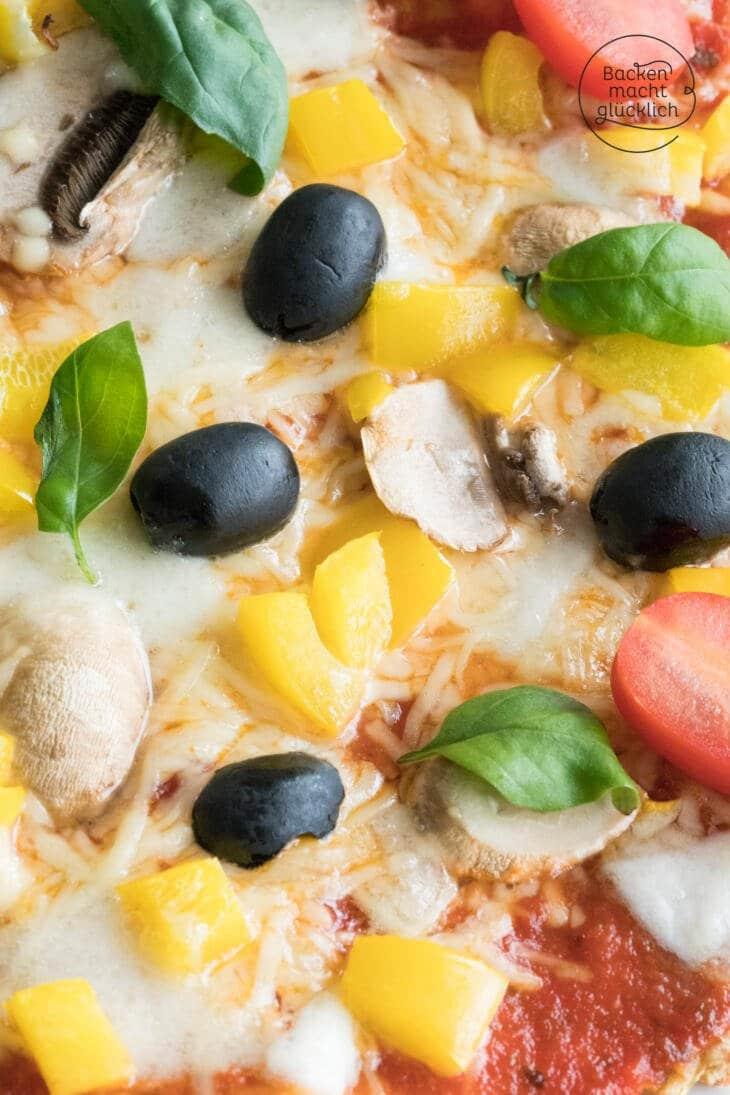 Pizza ohne Mehl