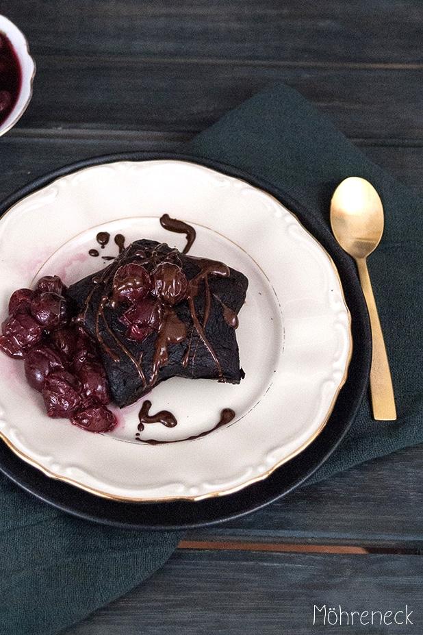 Vegane browniesterne Rezept