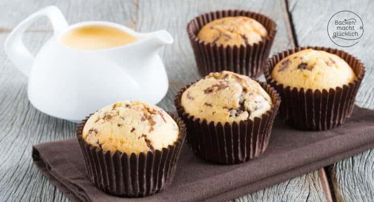 Eierlikörmuffins mit Schokolade