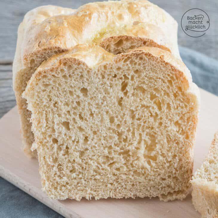 Kastenweißbrot (Toastbrot)