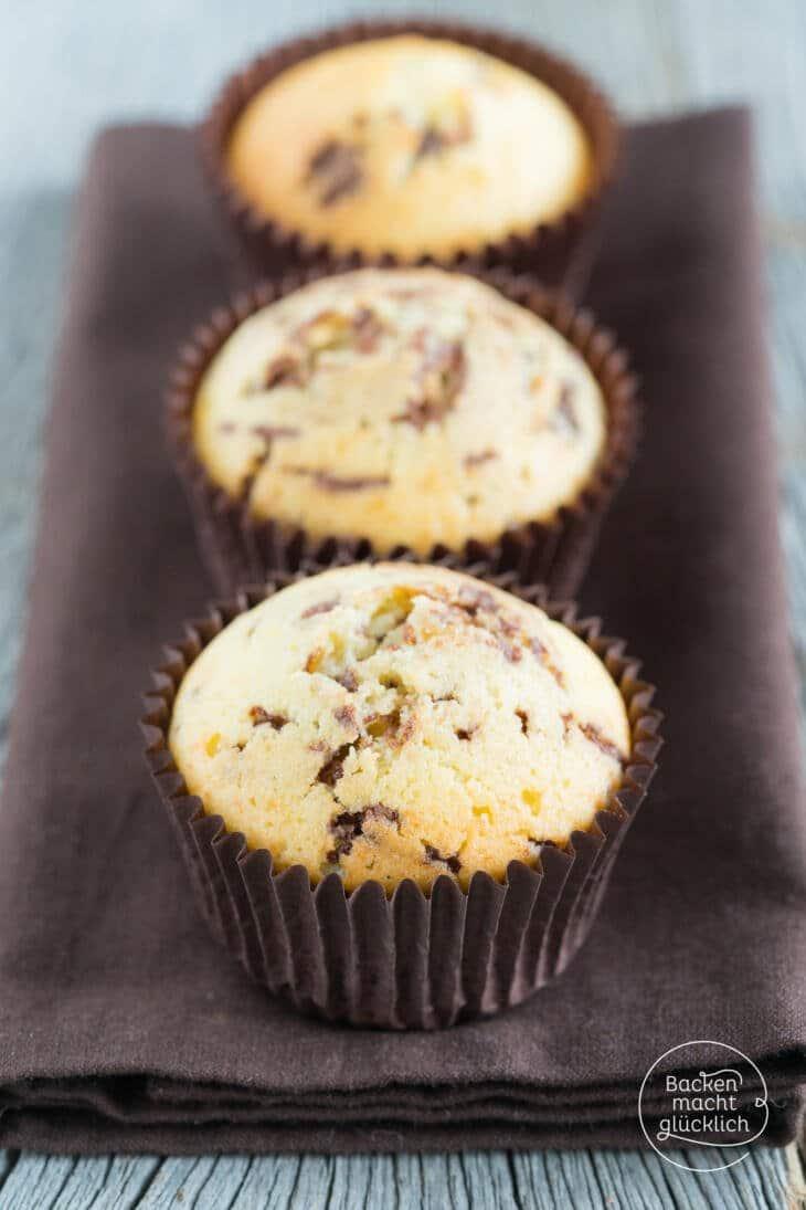 Saftige Eierlikör-Schoko-Muffins
