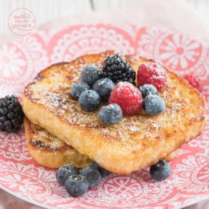 Süße Arme Ritter French Toast