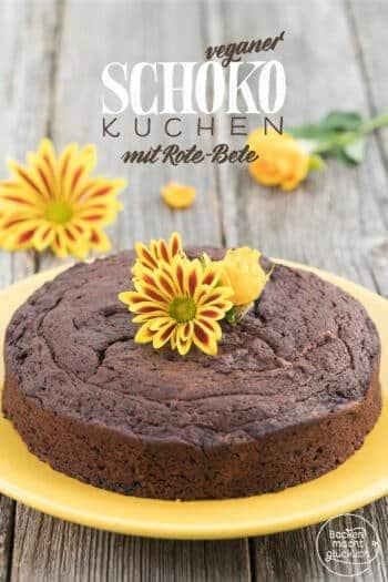 Schoko Rote Beete Kuchen