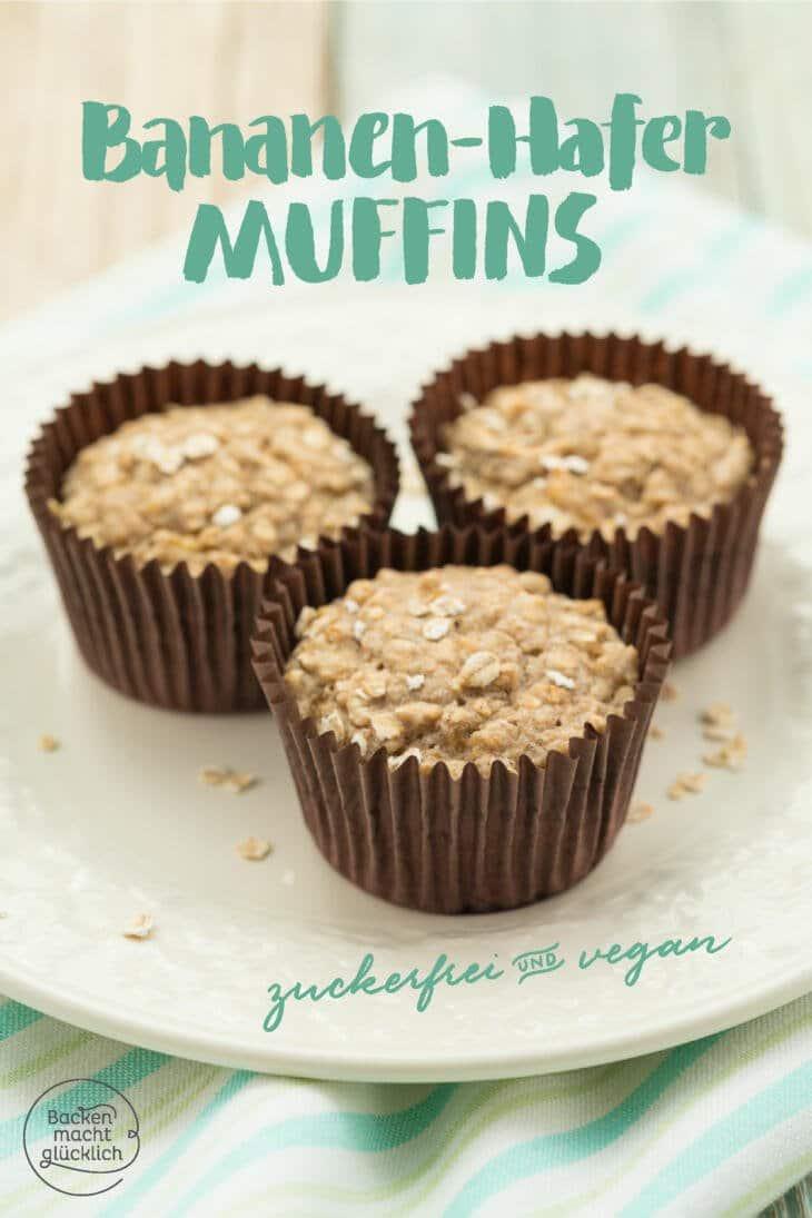 gesunde Bananenmuffins für Babys und Kleinkinder
