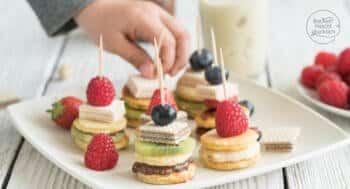 Mini-Pancake-Spiesse-Rezept
