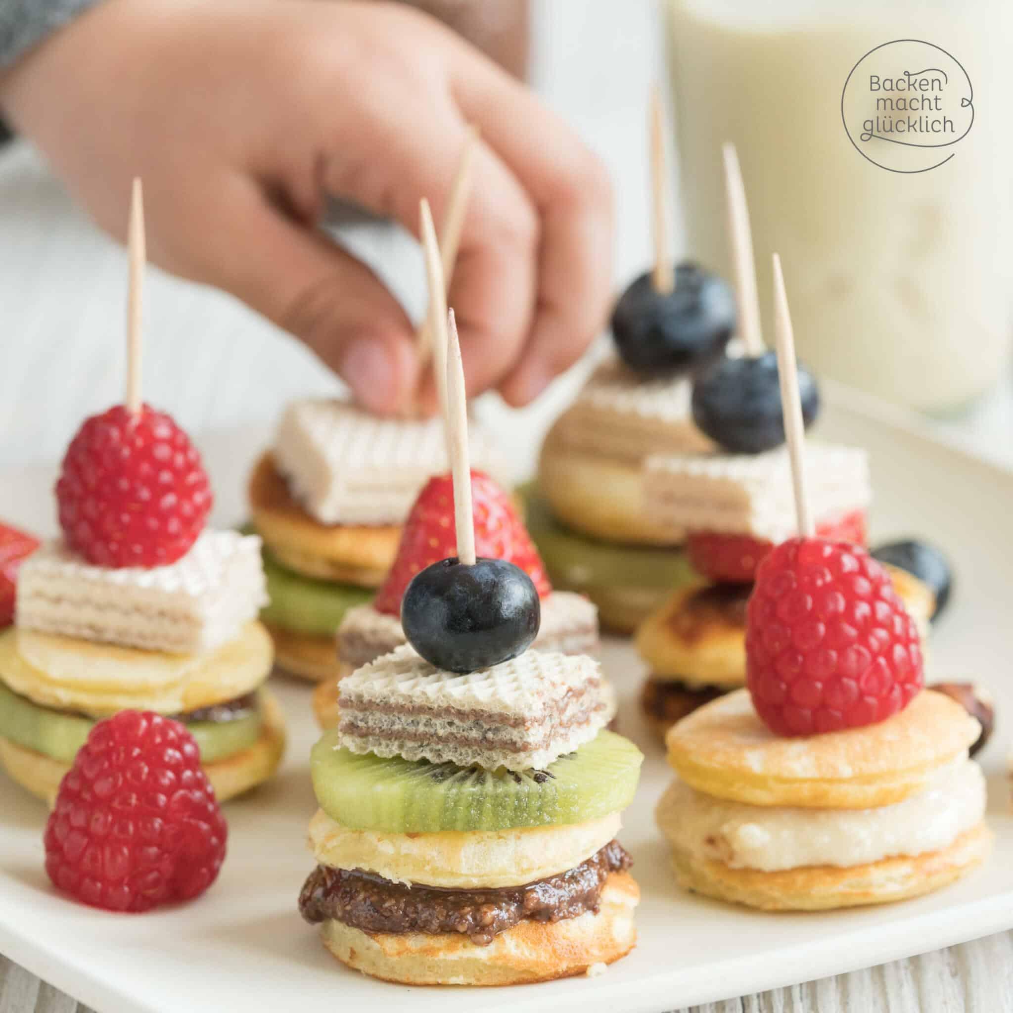 Mini Pancakes-Rezept