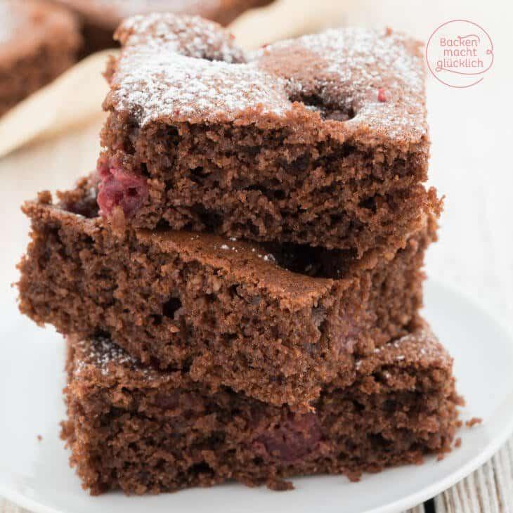 Saftiger Schoko Kirsch Kuchen Backen Macht Glucklich