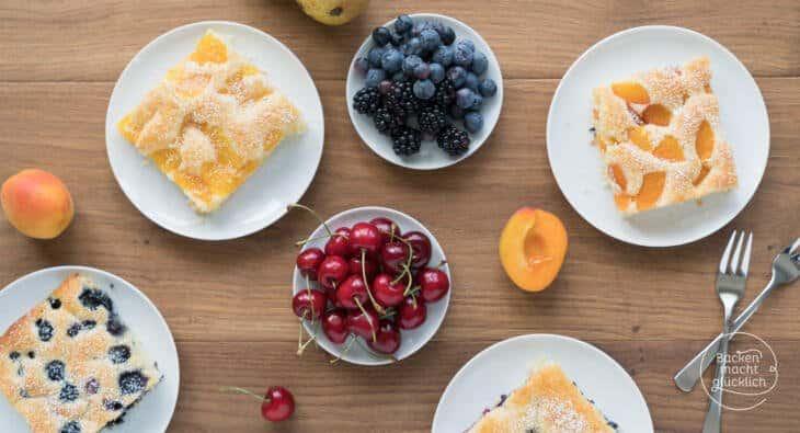 schneller Obstkuchen vom Blech Rezept