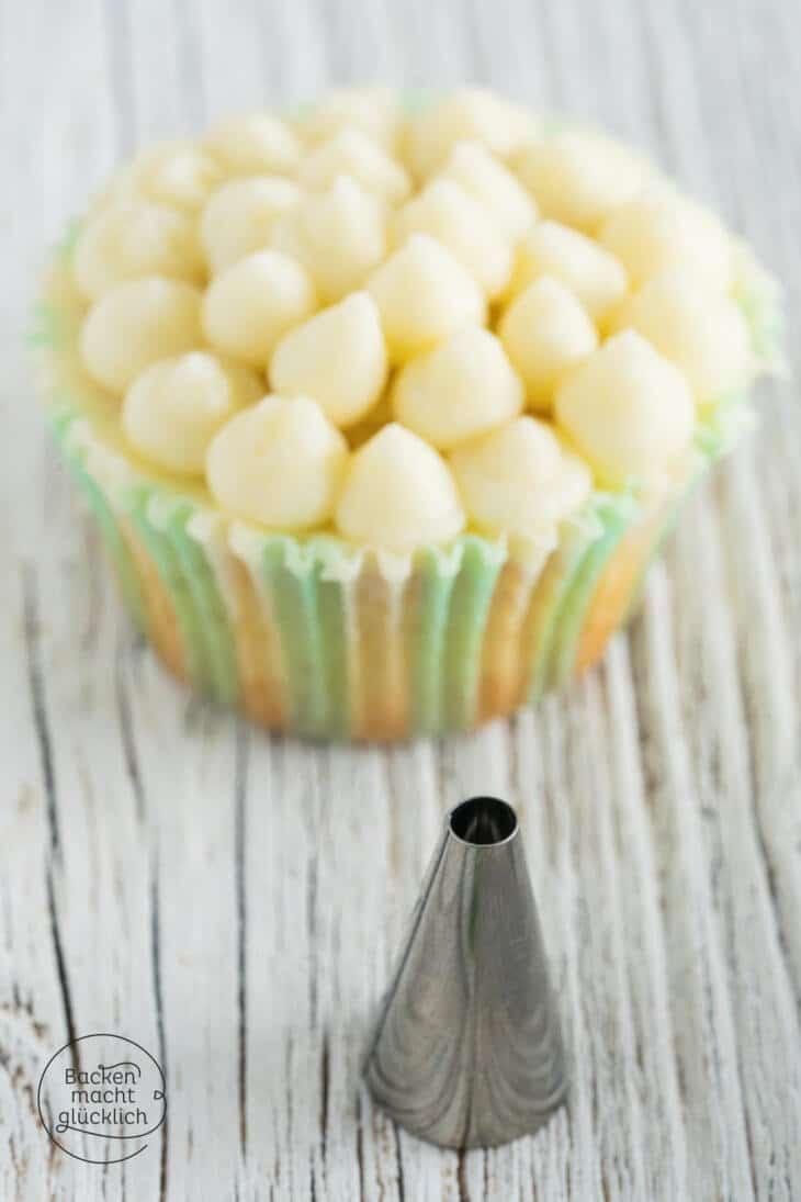 Cupcake Deko Tupfen