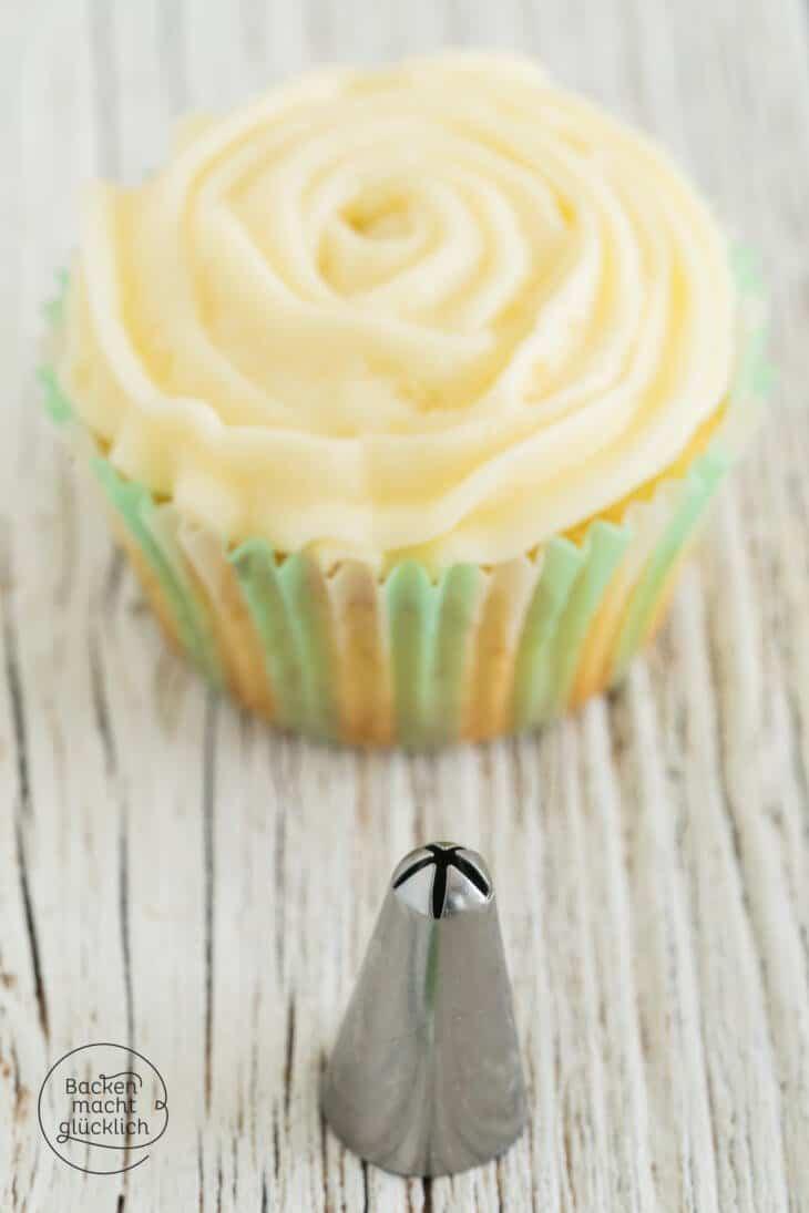 Cupcake-Deko Rosen