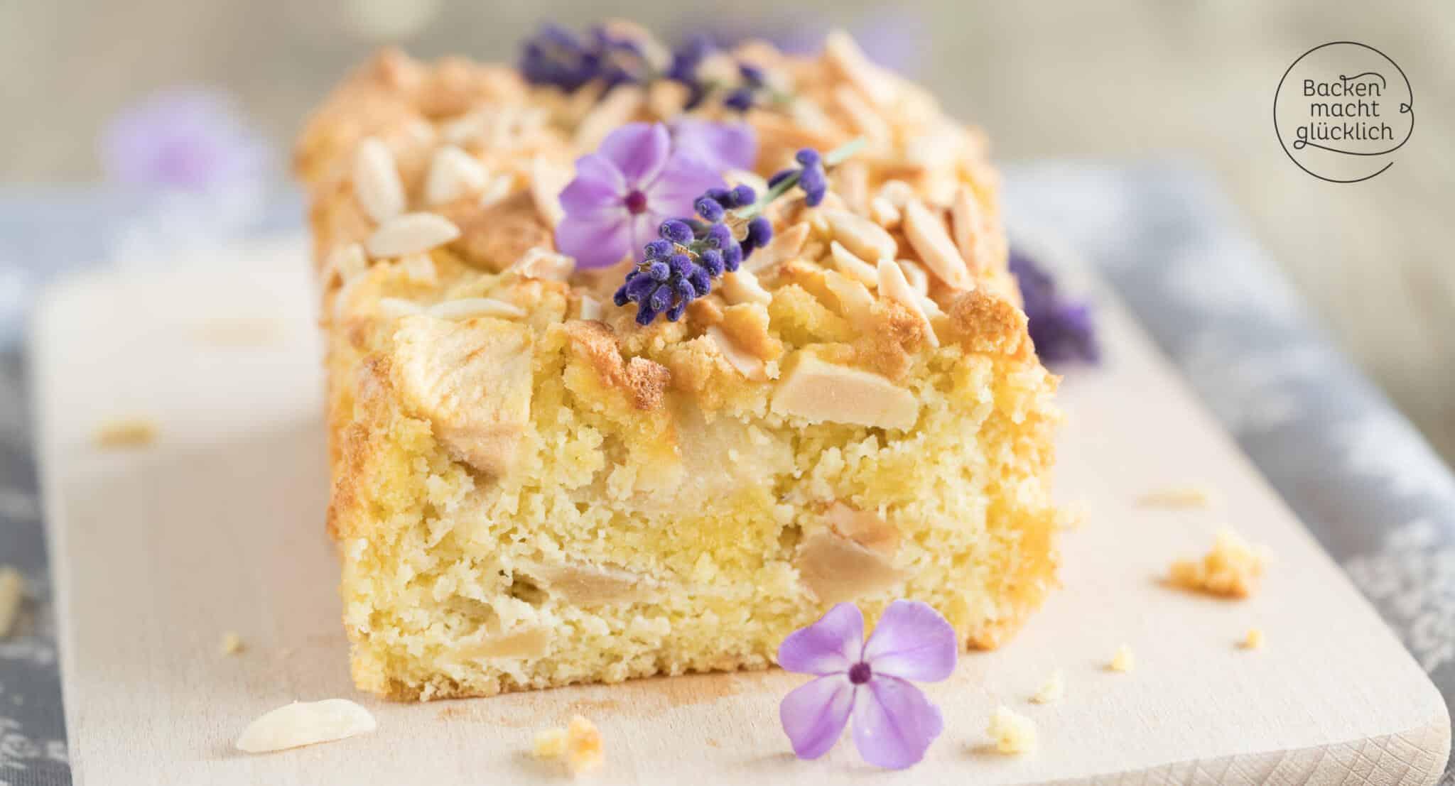 Low Carb Apfelkuchen ohne Mehl & Zucker  Backen macht glücklich