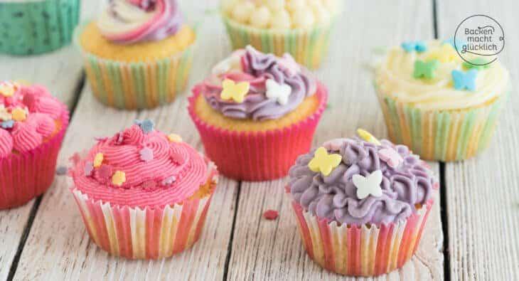 Muffins verzieren mit Frosting Ideen