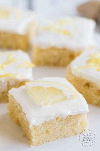 Saftiger Zitronenkuchen mit Buttermilch